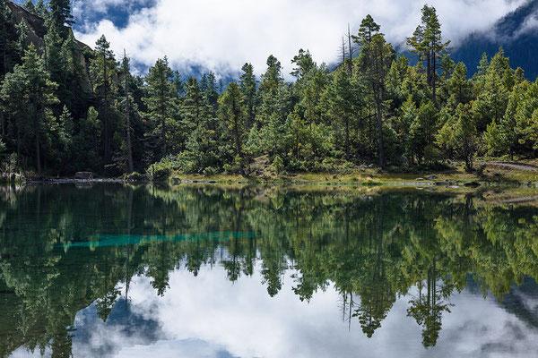 Bergsee bei Pisang