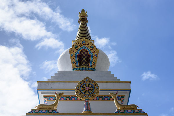 Stupa in Ngawal