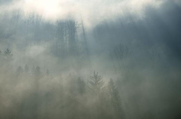 Herbststimmung bei Biedenkopf (Hessen)