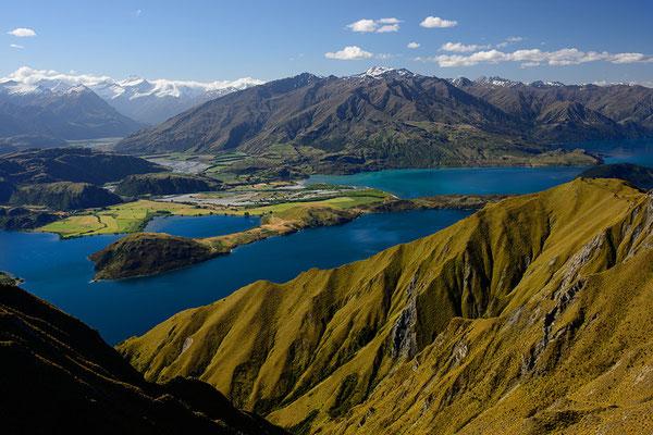 Lake Wanaka und Mount Aspiring