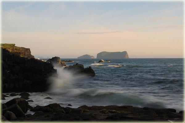 Westmännerinsel, von Heimaey nach Südwesten fotografie