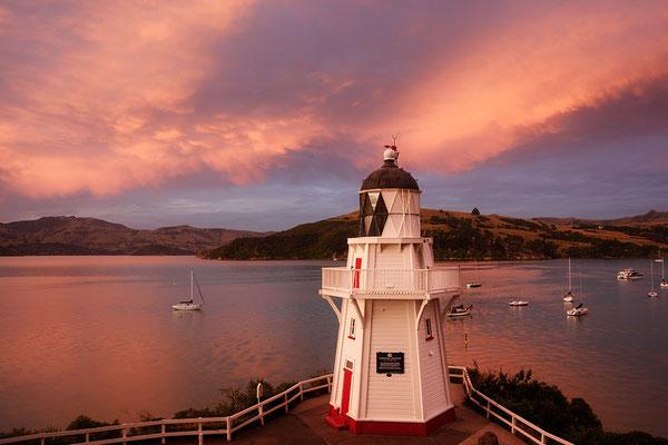 Leuchtturm in Akaroa