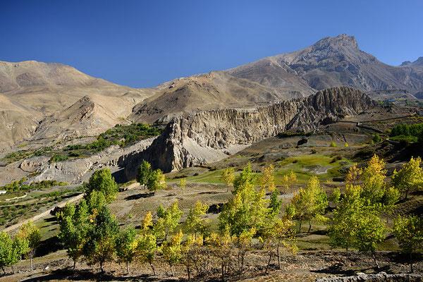 Landschaft unterhalb von Muktinath