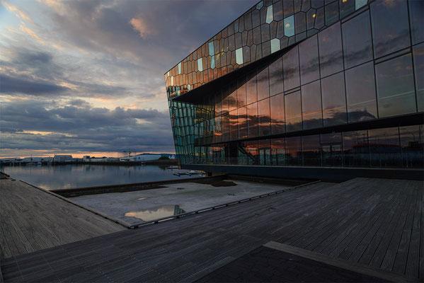 Harpa - das Konzerthaus am Hafen