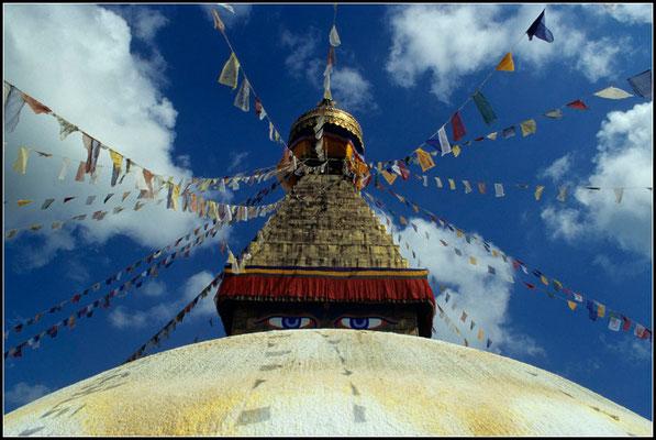 Stupa von Boudnath nahe Kathmandu
