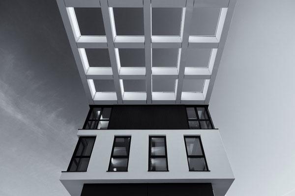 modernes Bürogebäude in Gießen