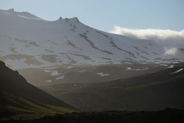 Flanke des Snaefellsjökull