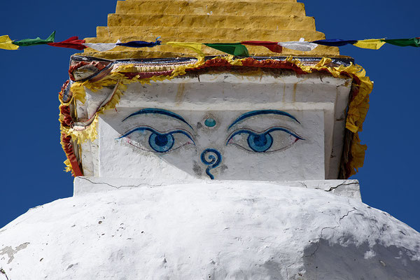 Stupa in Dingboche