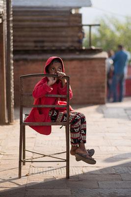 Kind in Swyambhunath