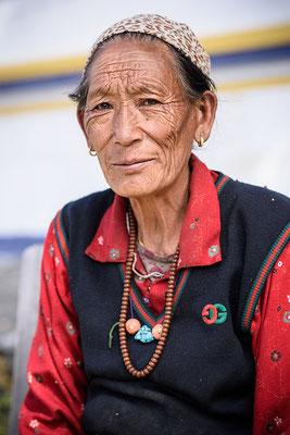 Gurung Frau in Ghyaru