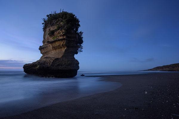 Fels bei Punakaiki