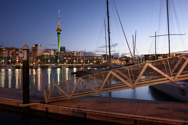 Auckland abends