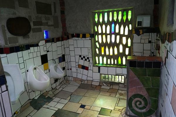 Hundertwasser-Toilette :-)