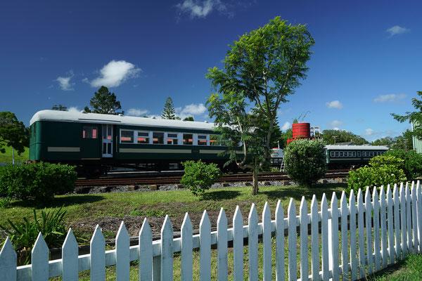 altes Gleiswerk in Kawakawa