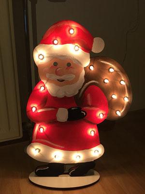 Nikolaus mit Sack Lampe