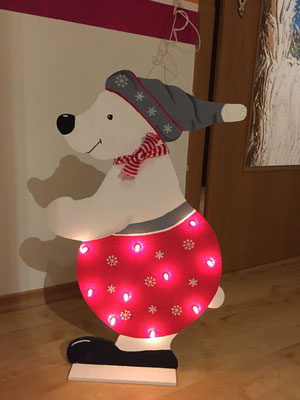 Eisbär Lampe