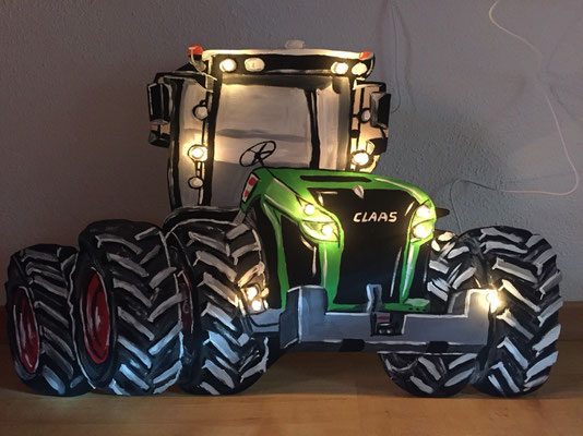 Claas Xerion Lampe