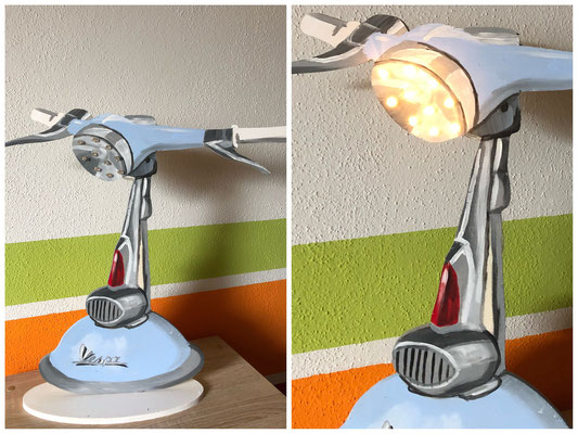 Vespa Lampe