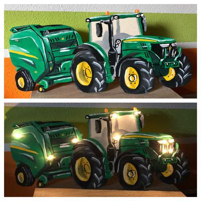 Traktor mit Anhänger 2