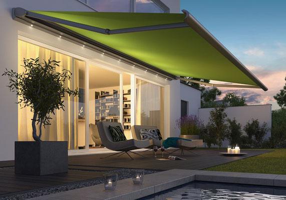 Sonnenschutz Markisen in Düren bei Voth Baudesign kaufen