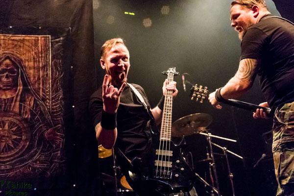 Commander    Dark Easter Metal Meeting    31.03.2018    Backstage München