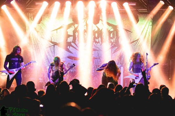 Endlevel || Blutfest 2019 || 22.11.2019 || Backstage München