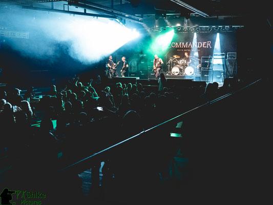 Commander | Abstandskonzert | 23.07.2021 | Backstage München