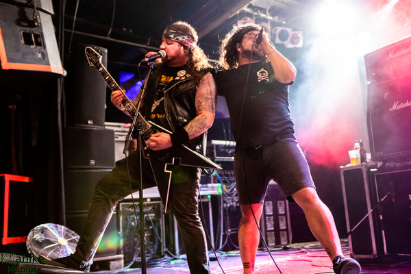 Municipal Waste || 29.07.2018 || Free&Easy || Backstage München