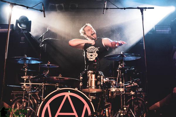 Alien Weaponry || 06.08.2019 || Backstage München