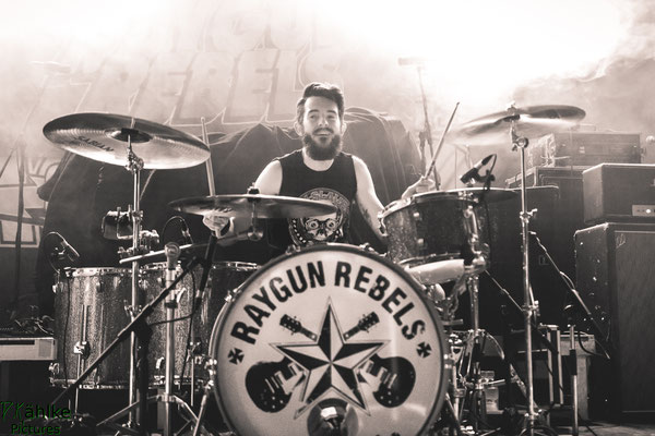 Raygun Rebels || 25.07.2019 || Backstage München