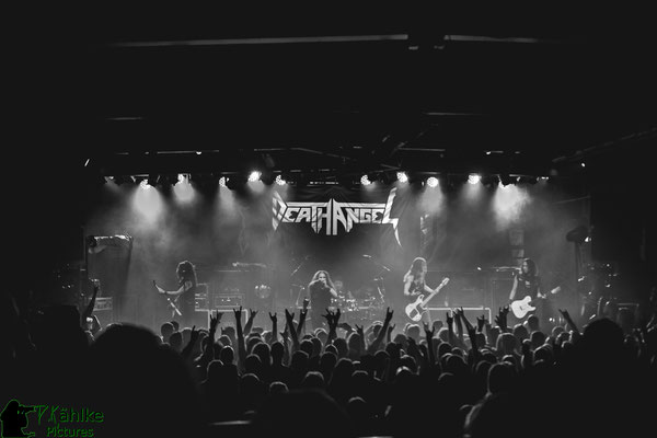 Death Angel || The Bay Strikes Back Tour 2020 || 21.02.2020 || Backstage München