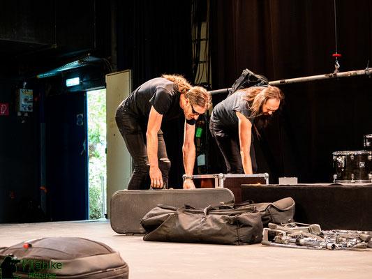 Es geht weiter | Aufbau im Backstage München | 26.06.2021