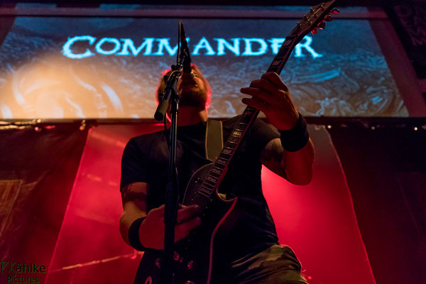Commander || Dark Easter Metal Meeting || 31.03.2018 || Backstage München