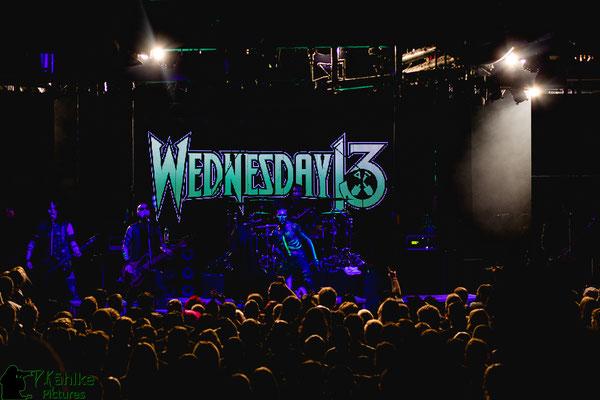 Wednesday 13 || 13.10.2019 || Backstage München