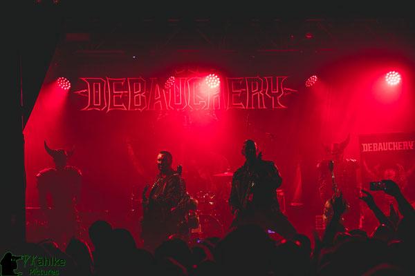 Debauchery || Blutfest 2019 || 22.11.2019 || Backstage München