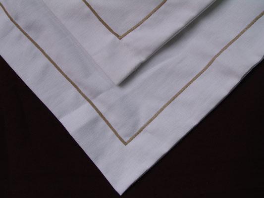 lino algodón servilletas manteles mantel servilleta f eston bordado elegante