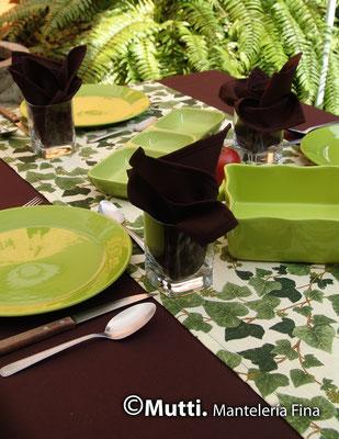 camino de mesa organico blancos mutti la carmelita banquetes oaxaca