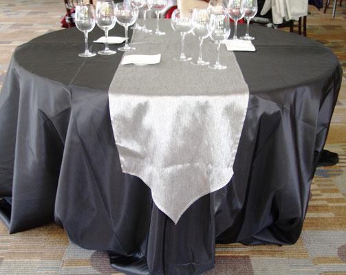 cubremantel camino plata jaspeadoa elegante graduaciones ambrosia blancos mutti