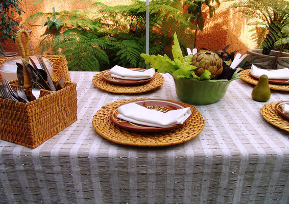 mantel para jardines manteleria fina blancos mutti