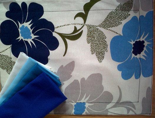 puebla mantel individual flores organico mutti