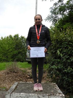 Lea Médaille D'Or cadette