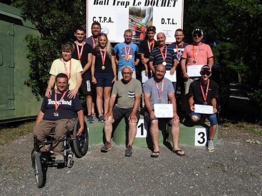 Les Médaillés Du CTPA Le Douhet