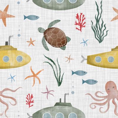 Under the Sea Grau