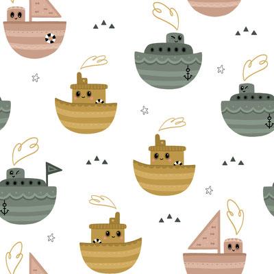 Boats Weiß