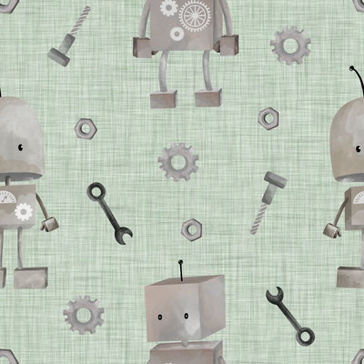Roboter Sage