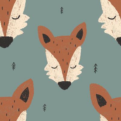 Fuchs Foxy Grün