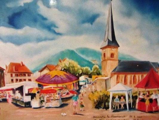 763- Dommartin-lès -Remiremont, le jour des pieds de cochons
