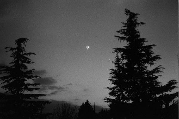 Luna-Giove-Venere- Pellicola Ilford-18-02-1999