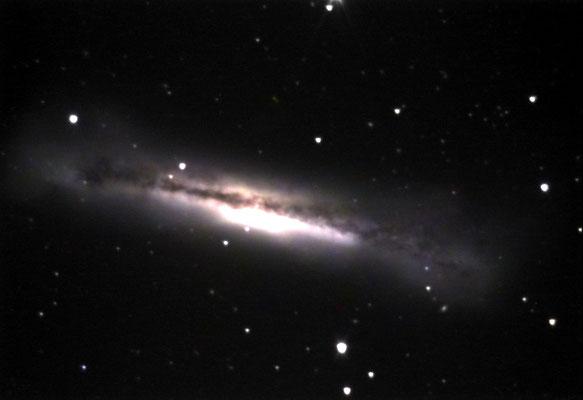 NGC3628-Newton 330mm-FLI 402me-08-03-2008-Rocchi Gianni