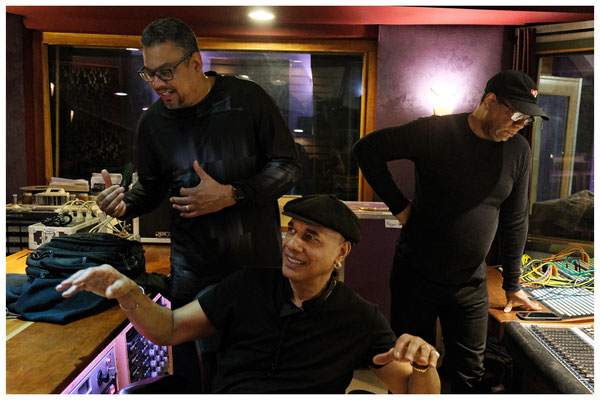 T.K. Blue Recording Session, Kaleidoscope Studios, Union, NJ 2018